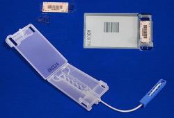 Lacres plásticos reutilizáveis para malotes - lacre leverlock