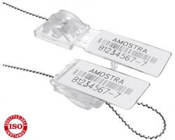 Lacres plásticos de segurança com arame - lacre minifastlock