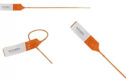 Lacres plásticos com rabicho e clip metálico - lacre clipinlock