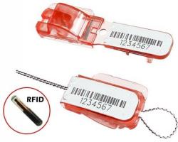 Lacres plásticos de segurança com micro-transponder - lacre E-lock