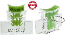 Lacres plásticos tipo âncora com numeração interna - lacre alock