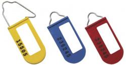 Lacres plásticos de segurança com fio metálico - lacre padlock