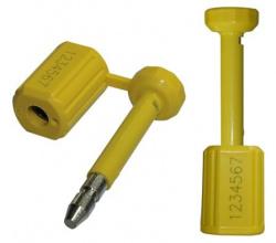 Lacres de segurança metálicos barreira e semi barreira